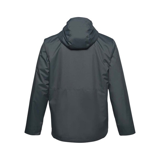 Under Armour Men's 3-in-1 Jacket, Pitch Gray / Black, bcf_hi-res