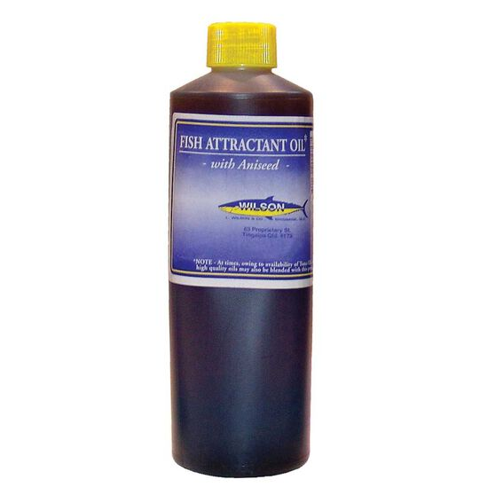 Wilson Fish Attractant Oil with Aniseed 1L, , bcf_hi-res