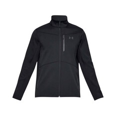 Under Armour Mens ColdGear Infrared Shield Jacket Black S, Black, bcf_hi-res