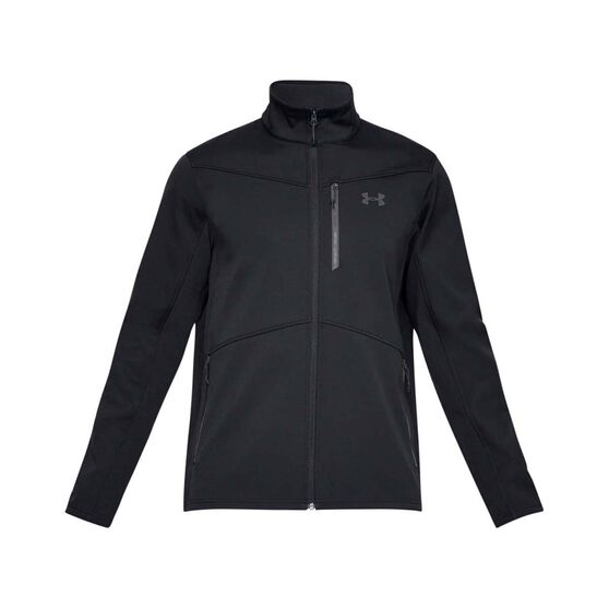 Under Armour Mens ColdGear Infrared Shield Jacket Black XL, Black, bcf_hi-res