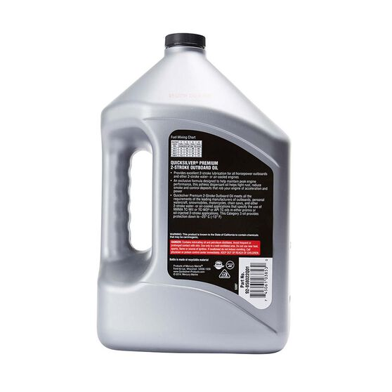 Quicksilver Oil Outboard Oil 2 Cycle 3.78L, , bcf_hi-res
