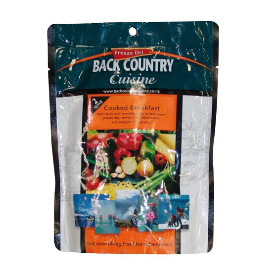 Back Country Cuisine Freeze Dried Cooked Breakfast, , bcf_hi-res