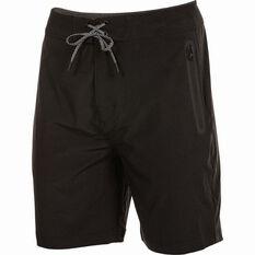 Daiwa Men's Stretch Shorts Black S, Black, bcf_hi-res