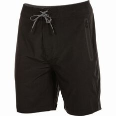 Daiwa Men's Stretch Shorts Black S, Black, bcf_hi-res