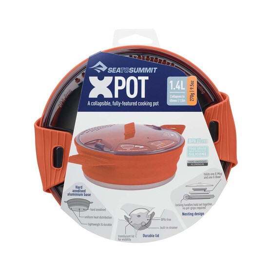 Sea to Summit X-Pot™ 2.8L Grey 2.8L, , bcf_hi-res
