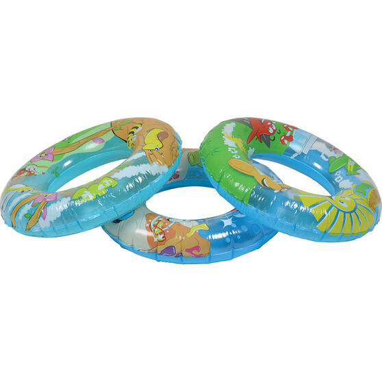 Bestway Inflatable Designer Swim Ring, , bcf_hi-res