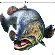 Savage Fishing Sticker Small 2 Pack, , bcf_hi-res