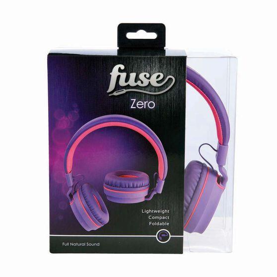 Fuse Audio Zero Over Ear Headphones Purple / White, Purple / White, bcf_hi-res