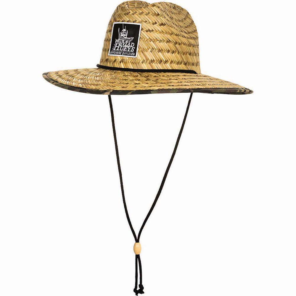 The Mad Hueys Men s Camo Straw Hat  dca1dd91806c