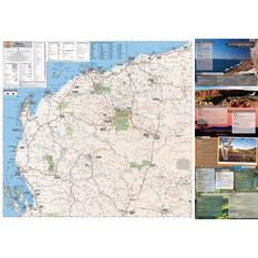 Hema Pilbara And Coral Coast Map (9th Edition), , bcf_hi-res