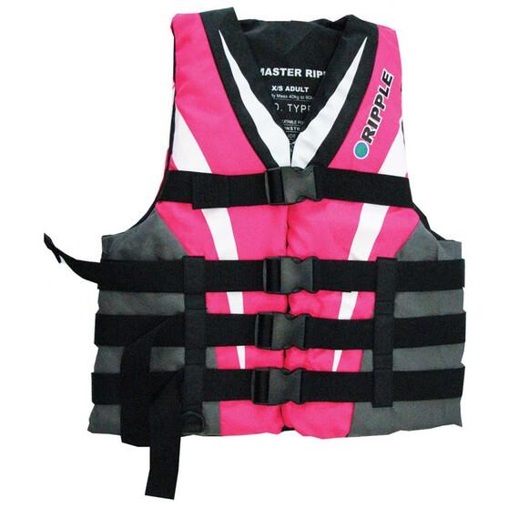 Ripple Adult Skimaster PFD 50S, Pink, bcf_hi-res