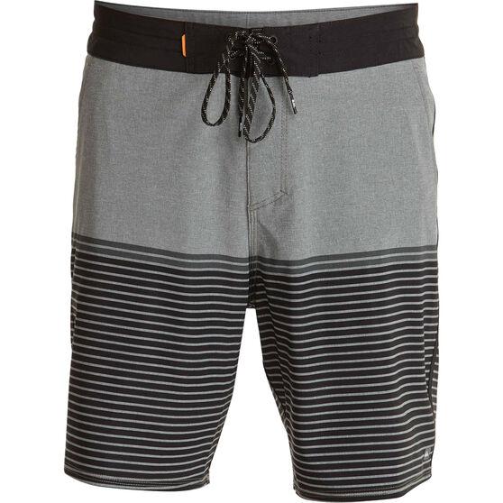 Quiksilver Men's Liberty Stripe Boardshorts, Dark Shadow, bcf_hi-res