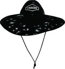 Tradie Men's Sharkmania Straw Hat Print OSFM, Print, bcf_hi-res