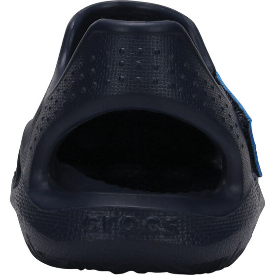 Crocs Kids' Swiftwater Wave Sandals, Navy, bcf_hi-res
