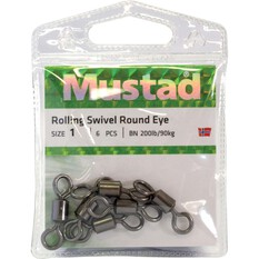 Mustad Rolling Black Swivel, , bcf_hi-res