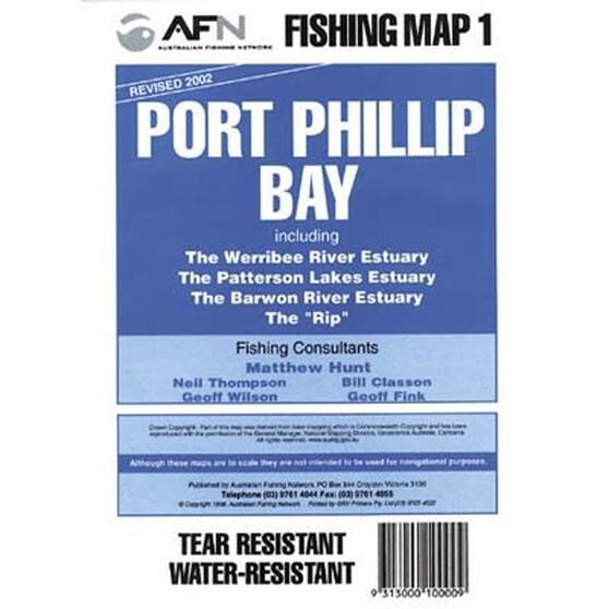 AFN Port Phillip Bay Fish Map, , bcf_hi-res
