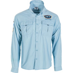 BCF Men's Long Sleeve Fishing Shirt Spray S, Spray, bcf_hi-res