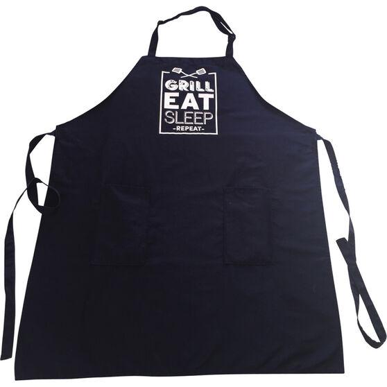 Grill Eat Sleep Repeat' BBQ Apron, , bcf_hi-res