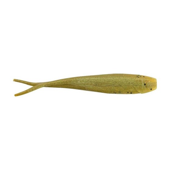 Berkley Gulp Minnow Soft Plastic Lure 4in Banana Prawn, Banana Prawn, bcf_hi-res