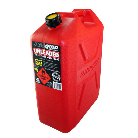 20L Plastic Fuel Jerry Can, , bcf_hi-res