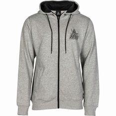 Men's Zip-Thru Hoodie Grey S, Grey, bcf_hi-res