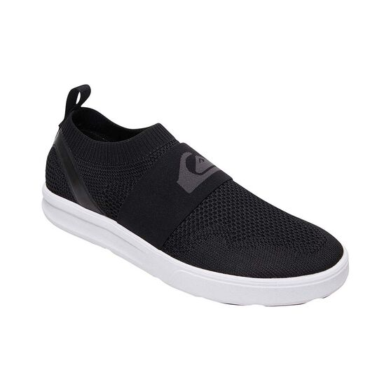 Quiksilver Waterman Men's Amphibian Plus II Slip-on Shoes, Black, bcf_hi-res