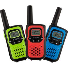 Oricom UHF 0.5W Handheld Radio Triple Pack, , bcf_hi-res