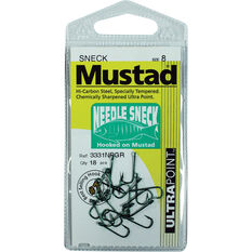 Mustad Blackfish S-Neck Hook, , bcf_hi-res