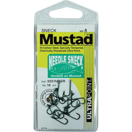 Mustad Blackfish S-Neck Hook, , bcf_hi-res