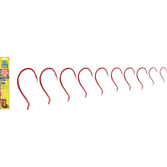 Snelled Red Anodised Beak Hook Rig, , bcf_hi-res