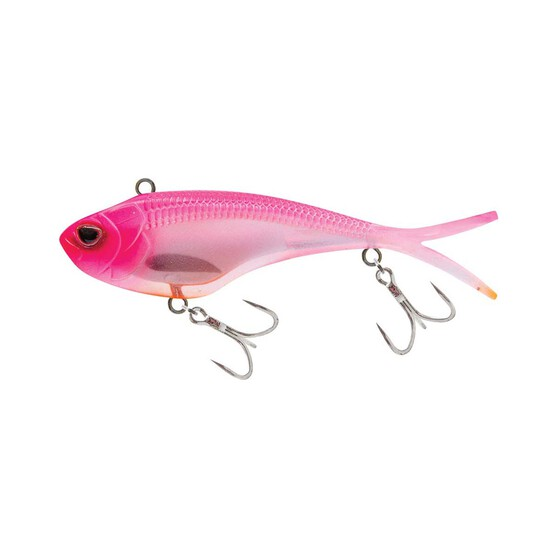 Nomad Vertrex Swim Soft Vibe Lure 95mm Hot Pink Orange, Hot Pink Orange, bcf_hi-res