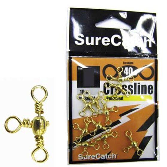 Crossline 10 Brass Swivel 10 Pack, , bcf_hi-res