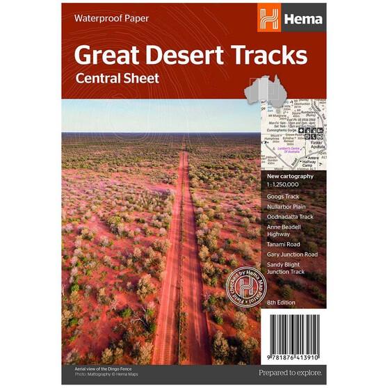 Hema Great Desert Tracks Central Sheet, , bcf_hi-res