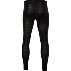 OUTRAK Men's Polypro Long Johns Black S, Black, bcf_hi-res