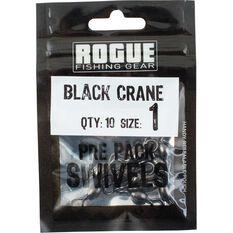 Rogue Black Crane Swivel 10 Pack, , bcf_hi-res