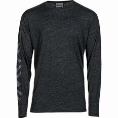 Men's Long Sleeve Tee Black S, Black, bcf_hi-res
