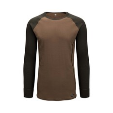 Macpac Men's Geothermal Long Sleeve Rosin / Tarmac S, Rosin / Tarmac, bcf_hi-res