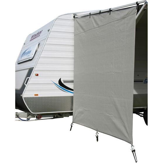 Camec Caravan Privacy Screen, , bcf_hi-res