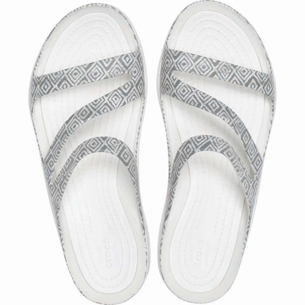57a46a158aefef Crocs Women s Graphic Swiftwater Sandal