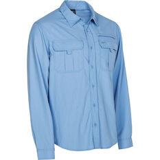 Explore 360 Men's Vented Long Sleeve Fishing Shirt Blue M, Blue, bcf_hi-res