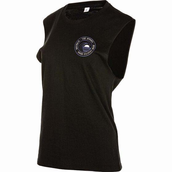 Tide Apparel Women's GC Tank Top, Black, bcf_hi-res