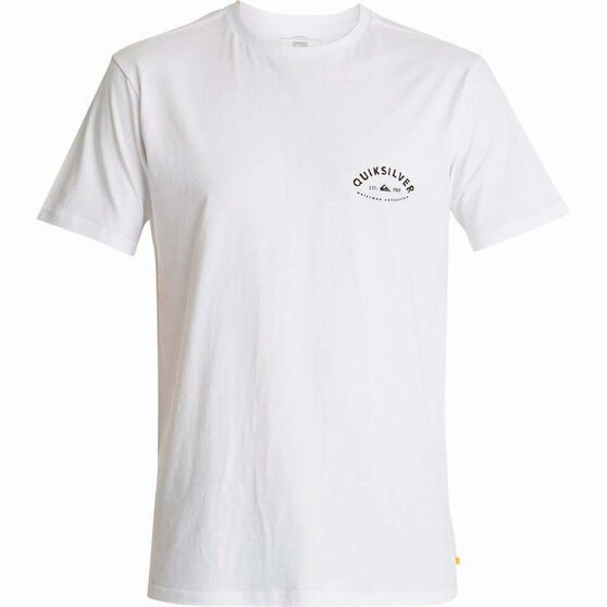 Quiksilver Men's Jim Tee White XL, White, bcf_hi-res