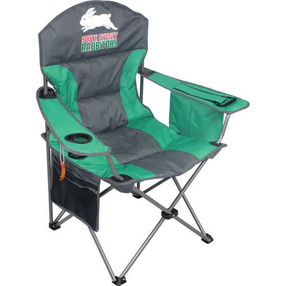 NRL Rabbitohs Camp Chair, , bcf_hi-res