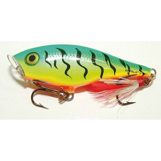 Rapala Skitter Pop Surface Lure 7cm Fire Tiger, Fire Tiger, bcf_hi-res