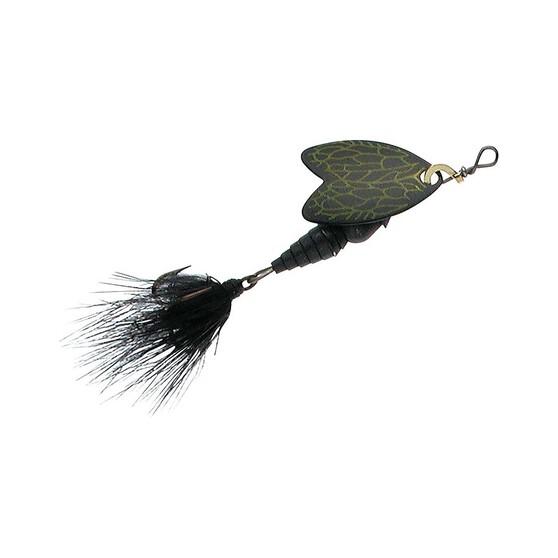 Mepps Bug Inline Spinner, Black, bcf_hi-res