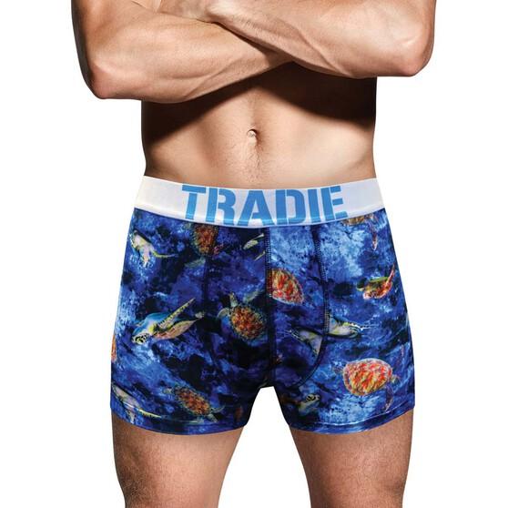 Tradie Men's Crush Trunks, Print, bcf_hi-res
