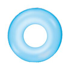 Bestway Inflatable Frosted Neon Swim Ring, , bcf_hi-res