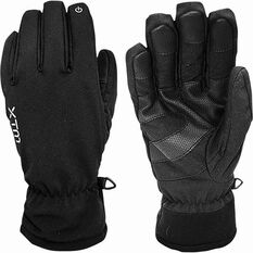 XTM Performance Unisex Tease II Soft Shell Gloves Black S, Black, bcf_hi-res
