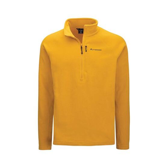 Macpac Men's Tui Fleece Pullover, Arrowwood, bcf_hi-res