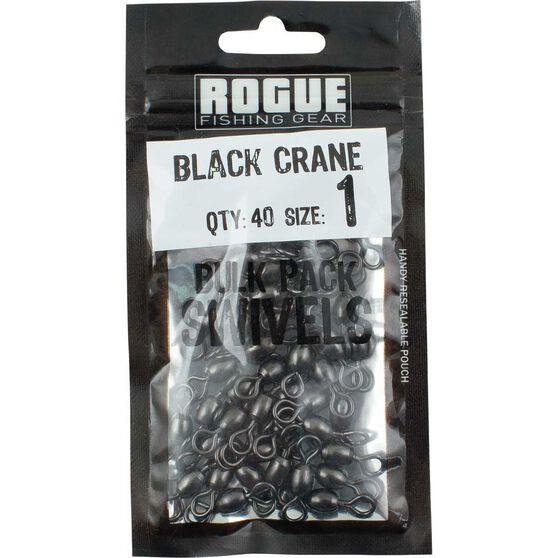 Rogue Black Crane Swivel 40 Pack, , bcf_hi-res